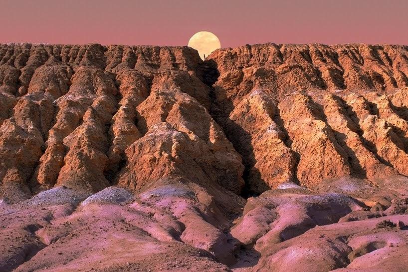 Desiertos futuristas en Andalucía por Al Mefer