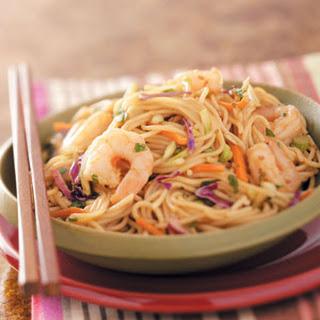 Shrimp 'n' Noodle Bowls.