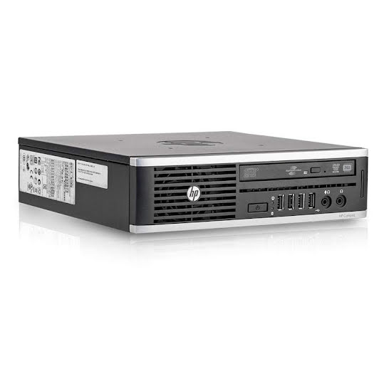 HP Compaq 8200 Elite Ultra Slim PC - i3 / 4GB RAM / 160GB HDD Stationär dator