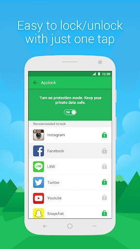 DU Privacy Vault screenshot 1