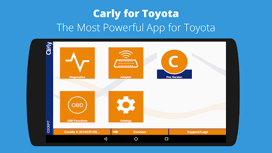 Carly for Toyota (OBD App) 2 23 (Full) APK for Android