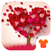Heart Tree 2018 - Love Wallpaper Theme