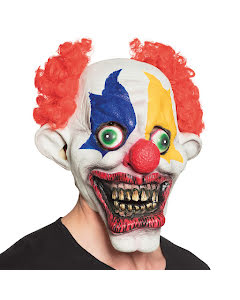 Mask, scary clown