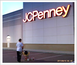Photo: BEN STRIPING AT JC PENNEY IN HAMMOND SQUARE