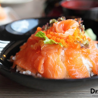 Smoked Salmon Sushi Bowl.