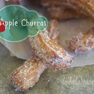 Easy Apple Churro's with Dulce De Leche.