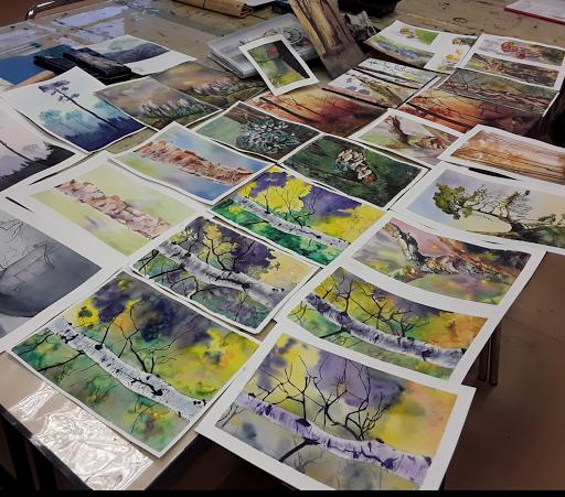 cours stages aquarelle jeanne PPA juin 2020