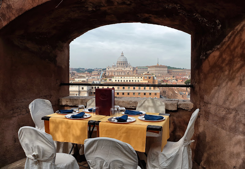 Menu con vista di romano