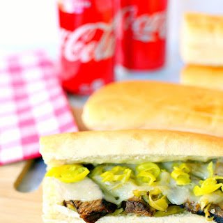 Slow Cooker Coca-Cola® Hot Beef Sandwiches Recipe