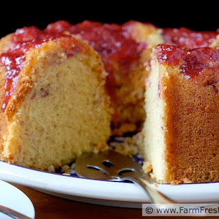 Strawberry Lemon Bundt Cake