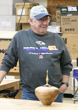 Photo: Mike Twenty brought his lidded hollow form.