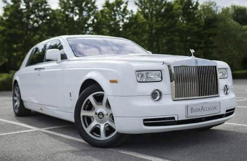 Rolls-Royce Phantom Hire Manchester