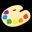 pintura a dedo icon