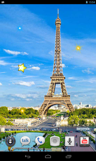 Paris City live wallpaper