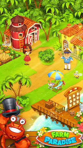 Farm Paradise - Fun farm trade game at lost island 2.15 screenshots 1