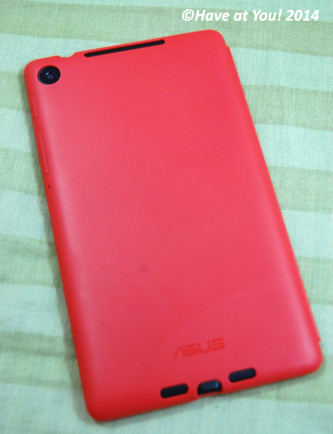 Nexus 7 cover back