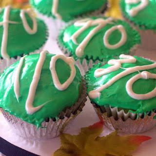 Football Yard Line Cupcakes