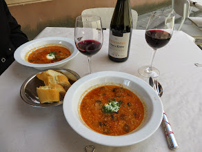 Photo: Beef and tomato soup at Rene