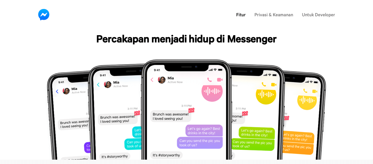 Facebook Messenger sebagai tools Facebook Marketing