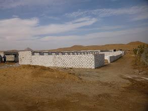 Photo: Modern hugecemeteriesbuilt on the archaeological land.