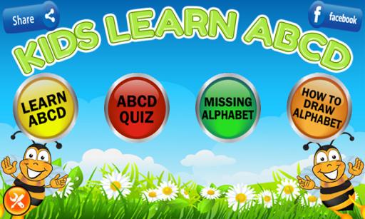 Kids Learn ABCD