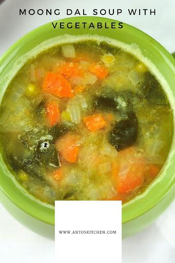 moong dal soup