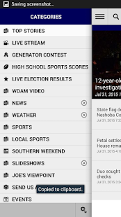 WDAM Local News- screenshot thumbnail