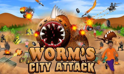 Wormu2019s City Attack Game 1.1 screenshots 1