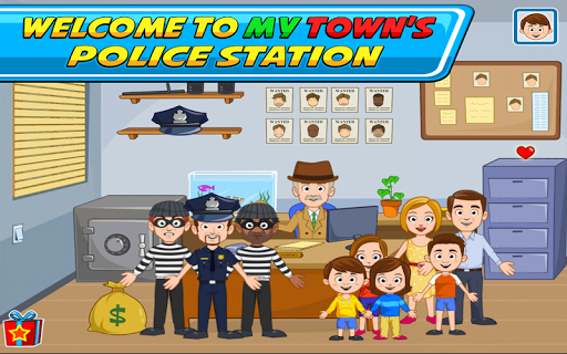 My Town : Police Station  screenshots 8