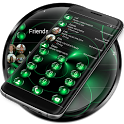 Dialer Spheres Green Theme icon