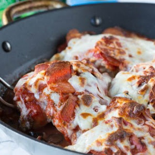One Pan Pizza Chicken