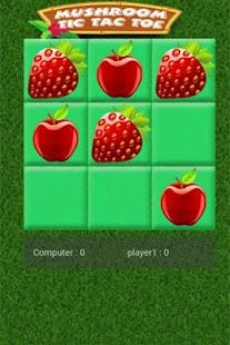 Mushroom Tic Tac Toe- screenshot thumbnail