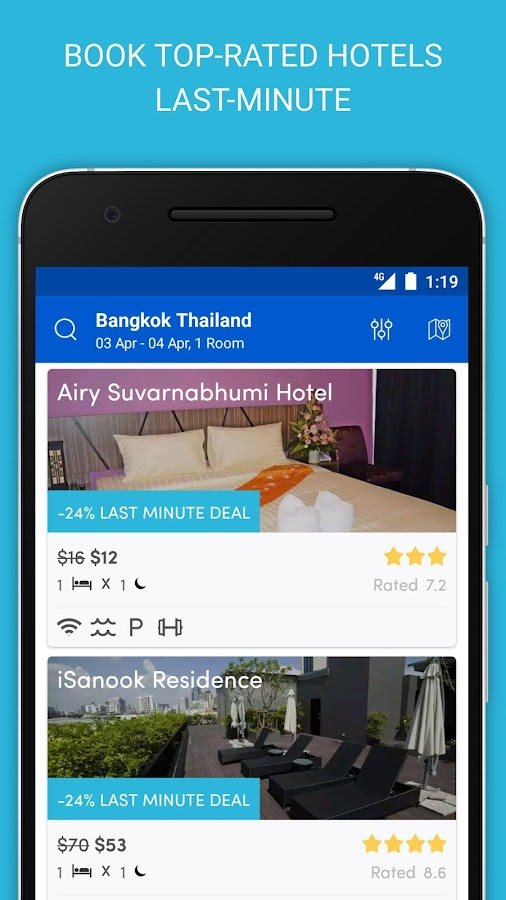 HotelQuickly -Best Hotel Deals- screenshot