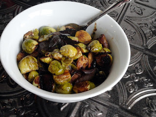 Sherry Balsamic Caramelized Brussels Sprouts Recipe
