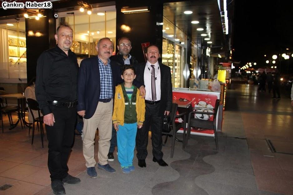 Çankırı Ramazan Akşamları,Çankırı Belediye Başkanı İsmail Hakkı Esen,Revoli  Pasta Kafe,Çankırı Belediyesi,