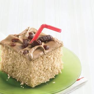 Root Beer Float Cake.