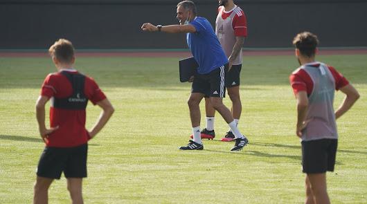 Quinto entrenamiento con Gomes después de una semana de vértigo