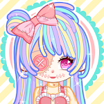 Pastel Monster Doll Dress up: Magical Pastel Doll icon