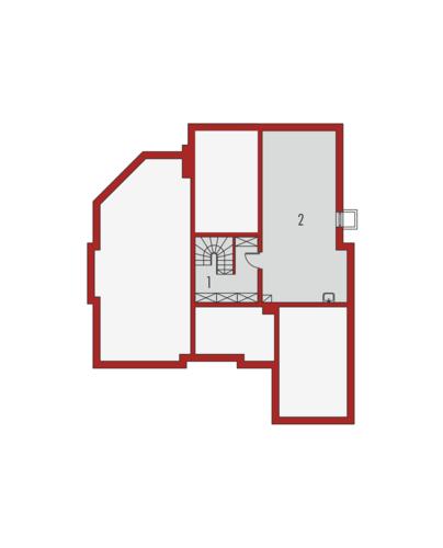 Kornelia G1 01 - Rzut piwnicy