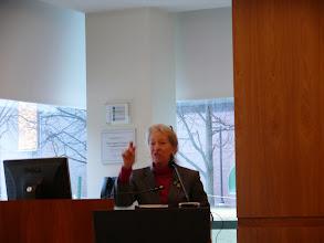 Photo: Ann Wolpert (Director of Libraries, MIT)
