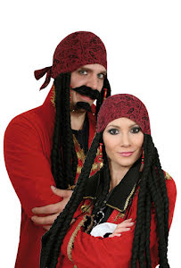 Peruk, Piratklut med hår