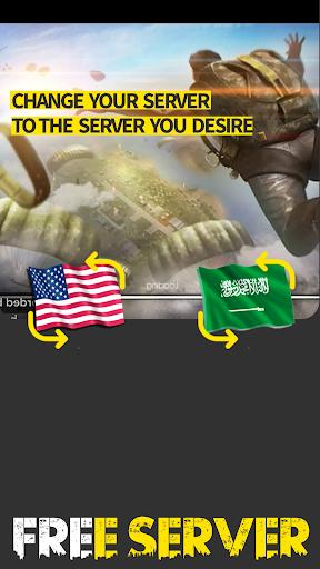 FREE SERVER CHANGER FOR FREE FIRE VPN 23.1 screenshots 2