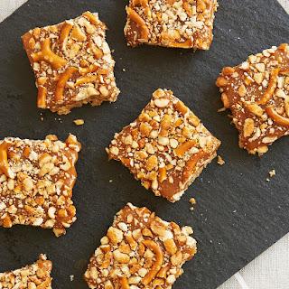 Peanut Butter Caramel Pretzel Bars