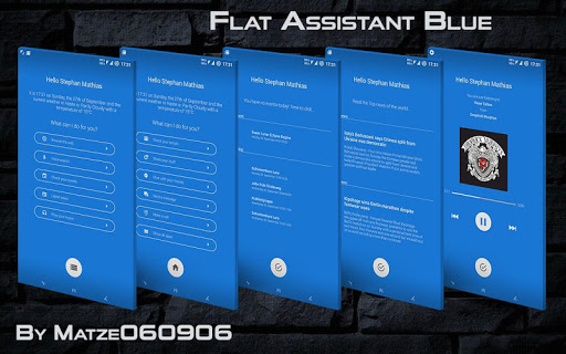 Flat Assistant for KLWP
