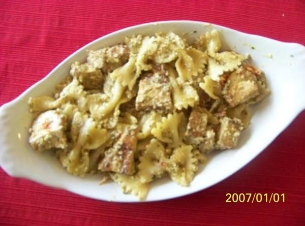Creamy Chicken Pesto Pasta Recipe
