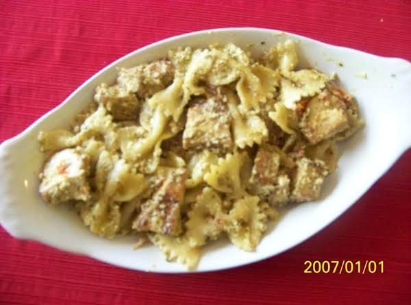 Creamy Chicken Pesto Pasta Recipe