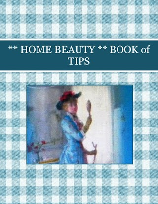 ** HOME BEAUTY ** BOOK of TIPS