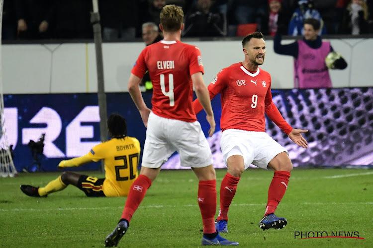 Zwitserland wint van Turkije maar is nog niet zeker van kwalificatie voor de volgende ronde