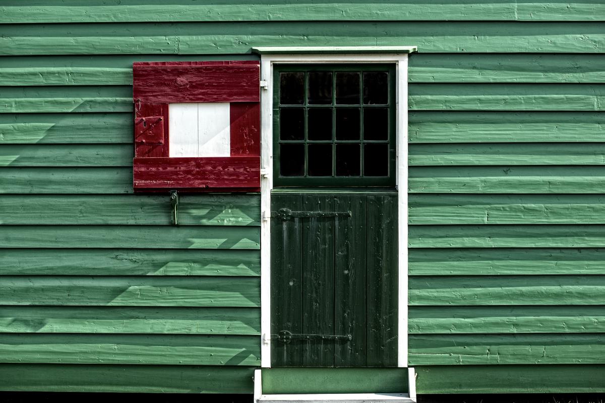 Porta verde di bondell