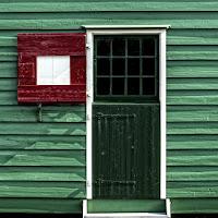 Porta verde di